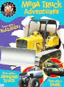 Wheels Truck Dvd Real Wheels Mega Truck Adventures Dvd 2004 Gift Box With