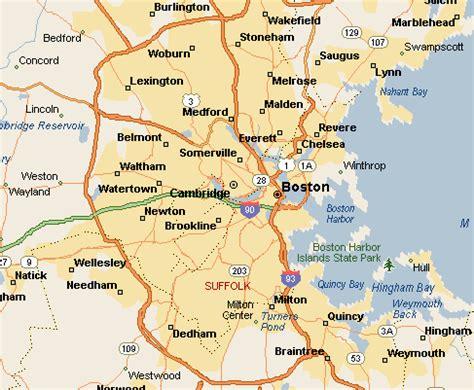 map of boston ma boston area map aphisvirtualmeet
