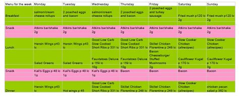 Atkins Diet Plan Phase 1 Recipes Dantoday