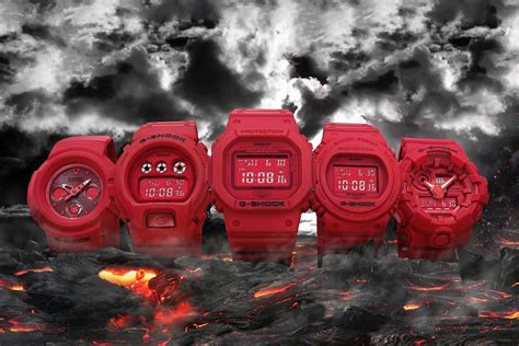 g shock 35th anniversary out collection hypebeast