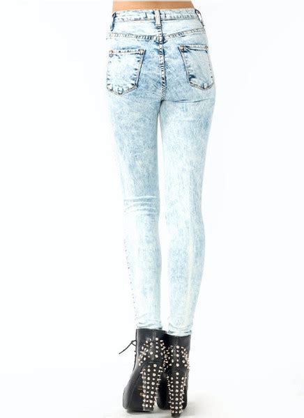 high waisted light wash jeans acid wash high waisted skinny jeans jeans to