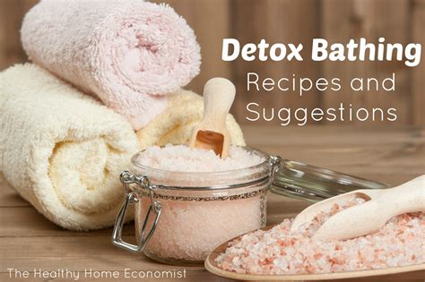 Herx After Detox Bath by Detox Baths Which Are Best And For What Ailments