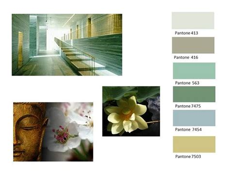 zen color palette the urge to retreat from the urbanised world influenced a