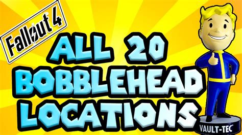 fallout r bobblehead locations fallout 4 all 20 bobblehead locations guide to find all
