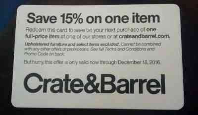 Crate And Barrel Gift Card Discount - bath and body works bath body works 10 off code will be sent online image on imged