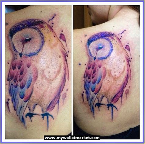 colorful owl tattoo designs awesome tattoos designs ideas for and abstract