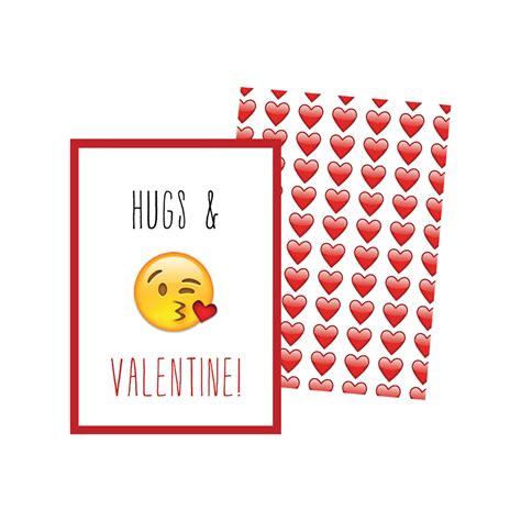 card emoji printable emoji valentines cards kateogroup