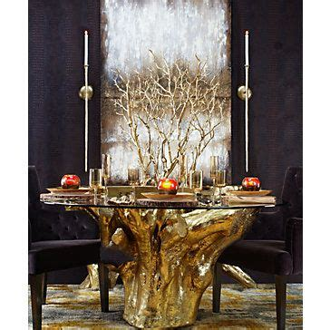 Dining Room Tables Glass Gold Branch Tree In Pot Room Inspiration Wall Sconces