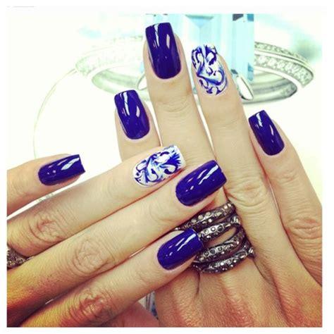 imagenes de uñas acrilicas azul rey unas color azul rey 19 curso de organizacion del hogar