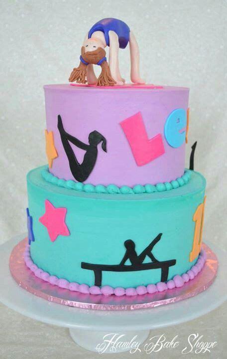 gymnastics birthday cake best 25 gymnastics birthday cakes