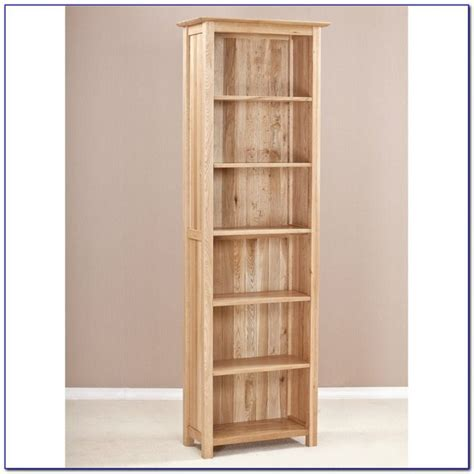 Narrow Bookshelves Wood by Wood Bookshelf Bookcase Home Design Ideas