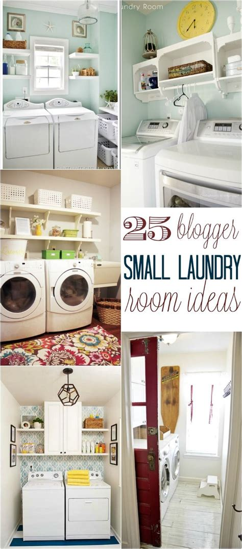 Small Laundry Room Decor 25 Small Laundry Room Ideas Small Laundry Rooms Small