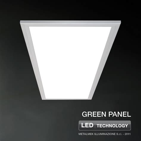 controsoffitto a led lada da incasso a led per controsoffitti green panel by