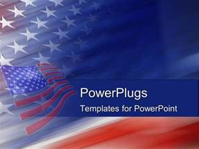 America Powerpoint Template powerpoint template american flag united states god bless