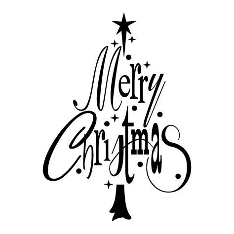 merry christmas tree wall quotes decal wallquotescom