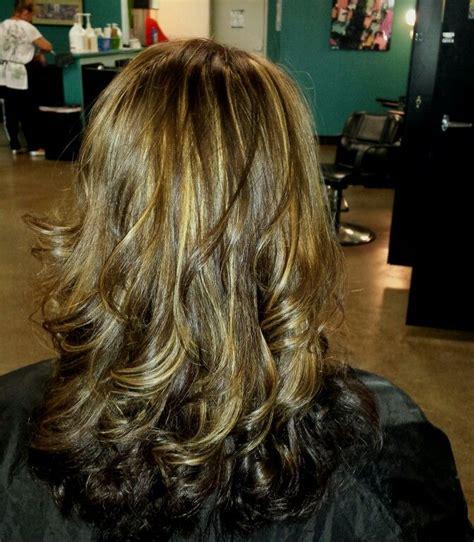 blonde hair with mocha lowlights mocha brown with blonde highlights hair pinterest of mocha