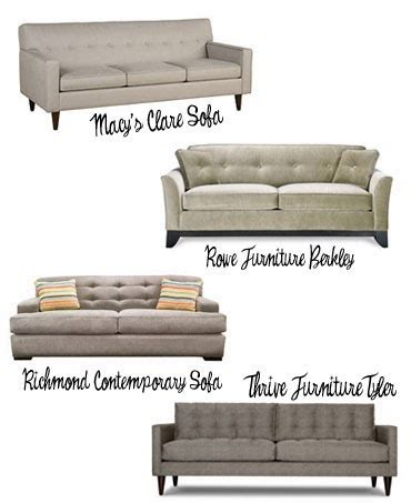 new sofas and other decor updates