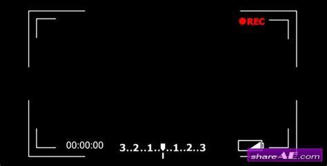 camera recording screen motion graphic videohive