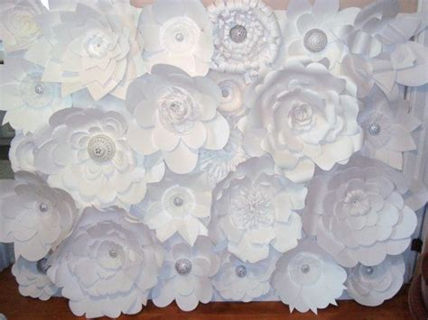decor diy paper flower backdrop white 2210990 weddbook