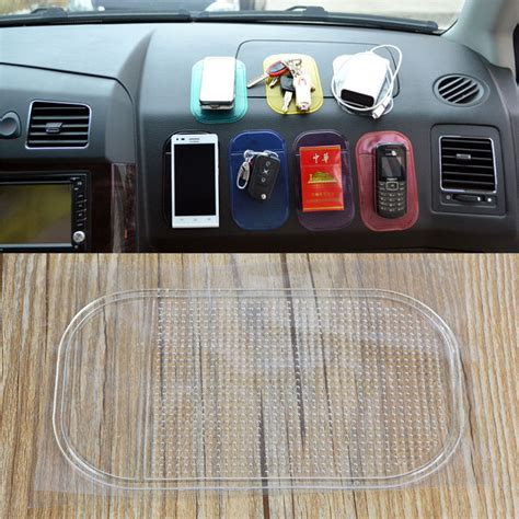 Car Dashboard Anti Slip Mat by Car Grip Pad Non Slip Sticky Mat Anti Slide Dash Cell