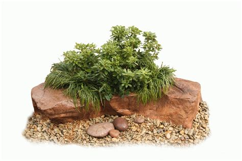 realistic rocks artificial garden pond rock products