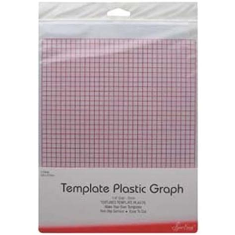 Template Plastic Sheets by Grid Marked Template Plastic For Patchwork Templates And