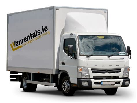 Box Rental Dublin - weekly hire dublin and truck rental dublin vanrentals ie