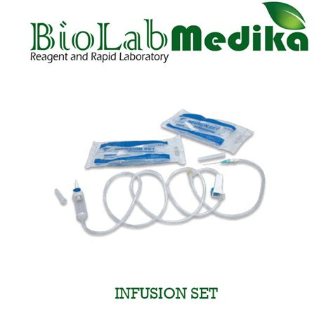 Infusion Set Selang Infus jual infusion set biolab medika