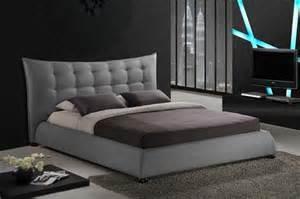 Baxton Studio Platform Bed Baxton Studio Bbt6323 Grey Marguerite Gray Linen Modern Platform Bed
