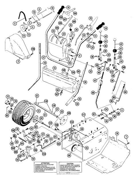 ariens parts diagrams ariens 924038 000101 st724 7hp tec 24 quot blower