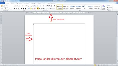 cara membuat garis judul di ms word cara menilkan garis pembatas di ms word 2010 boundaries