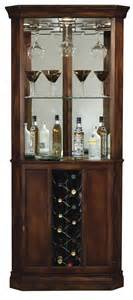 Corner Curio Cabinet With Wine Rack 690000 Howard Miller Cherrytraditional Corner Wine Cabinet