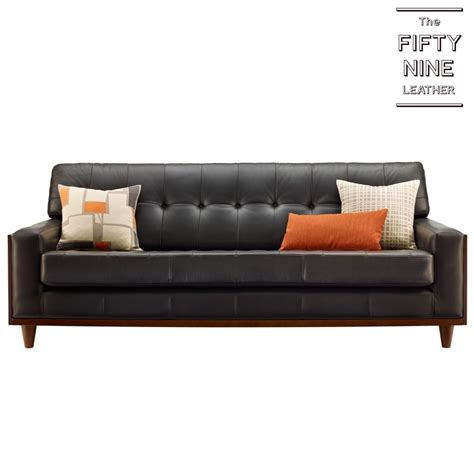 G Plan Vintage 59 Sofa by G Plan Vintage Fifty Nine Large Leather Sofa View In