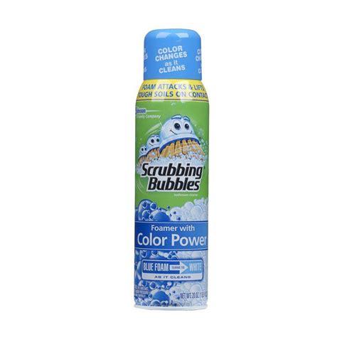 scrubbing bubbles bathtub cleaner scrubbing bubbles 20 oz foaming bathroom cleaner with