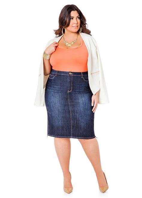 plus size white jean skirt ye jean