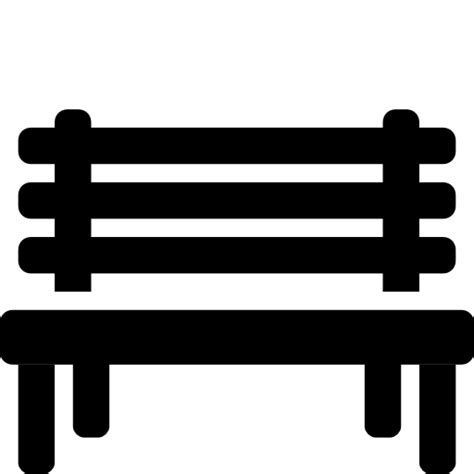park bench icon bench symbol images frompo 1