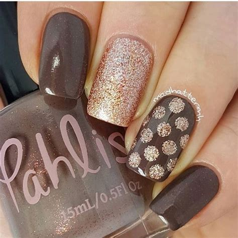 grey and gold grey and gold manicure ladystyle