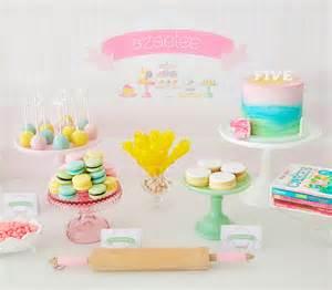 Summer Garden Party Decorations - sweet table blog de deco fete anniversaire baby shower bapteme mariage