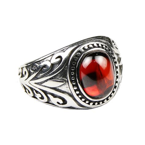 925 Sterling Silver Engraved Ring real 925 sterling silver jewelry vintage rings for