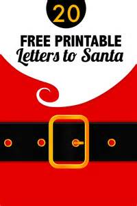 20 free printable letters to santa templates spaceships