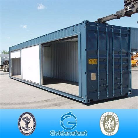 Garage Storage Containers by 20ft Shipping Container Garage With Roller Shutter Door
