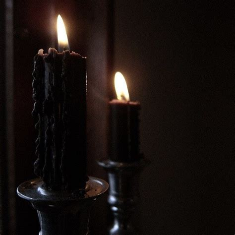 Black Candles Candles Amazing Black Candle Ideas Black Candle Spells