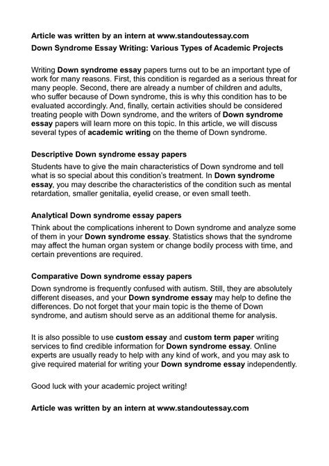 general classification of main essay types the top 10