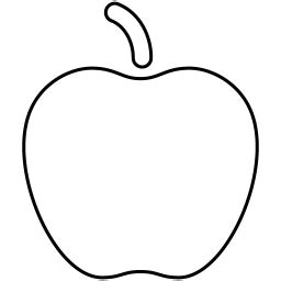 Apple Outline Png by Apple Icon Myiconfinder