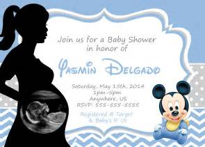 mickey mouse baby shower invitations best invitations
