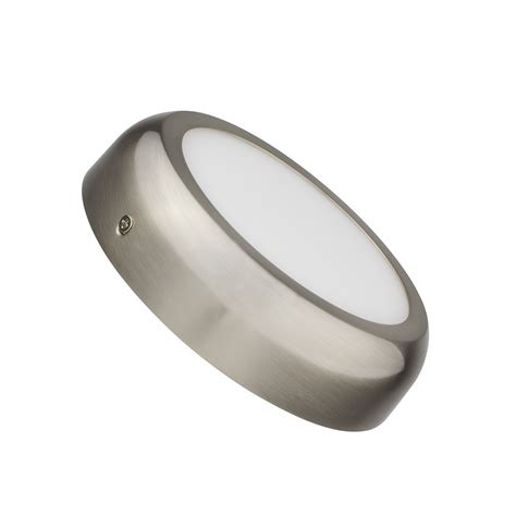 deckenleuchte silber led deckenleuchte rundes design 12w silber ledkia