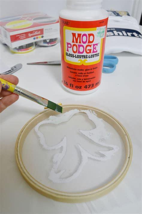 diy mod podge 17 best images about silk screening on freezer