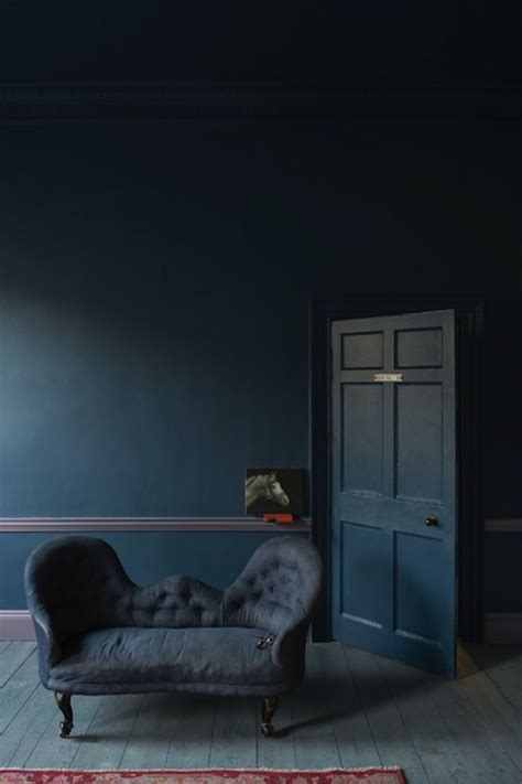 dark blue paint living room dark blue paint colors eclectic living room farrow
