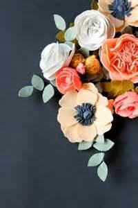 felt flower crown clips