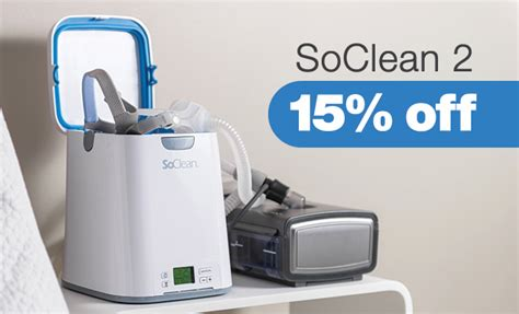 15% Off SoClean 2   The #1 CPAP Sanitizer   Easy Breathe